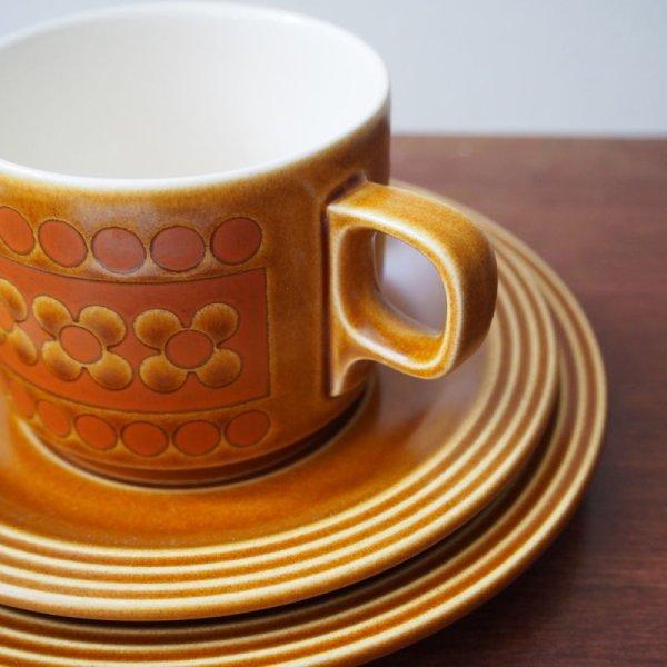 画像2: ホーンジー コーヒーカップトリオ 【サフラン】